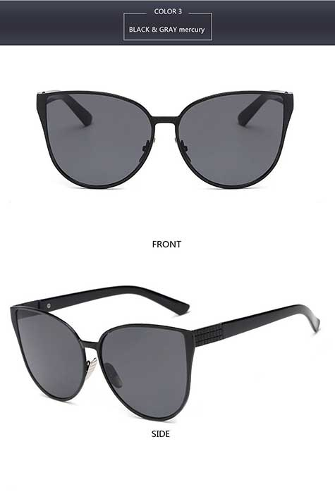 2017 New Oversized Cat Eye Style Sunglasses