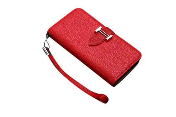 iPhone Wallet Leather Case (available in more colors)