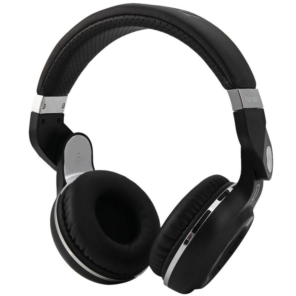 DELTRON 4 in 1 Bluetooth Foldable Headphone (available in black)