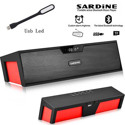 10W SARDINE HIFI portable wireless Bluetooth Speaker