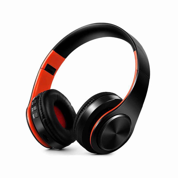 DRODEN Foldable Wireless Noise-Cancelling Headphone w/ Mic