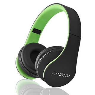 ANDOER Multi-functional Noise Cancelling Headphones w/ Mic