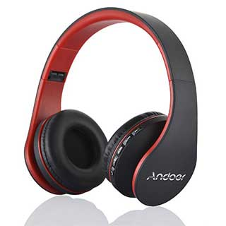 ANDOER Multifunctional Bluetooth Wireless Headphones w/ Mic
