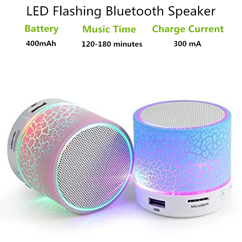 LED Portable Mini Bluetooth Speaker