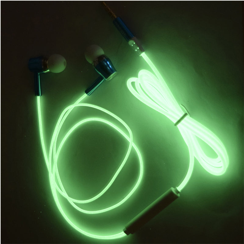 GLOWY Earphones with Microphone - Noise Cancelling  - 3.5MM