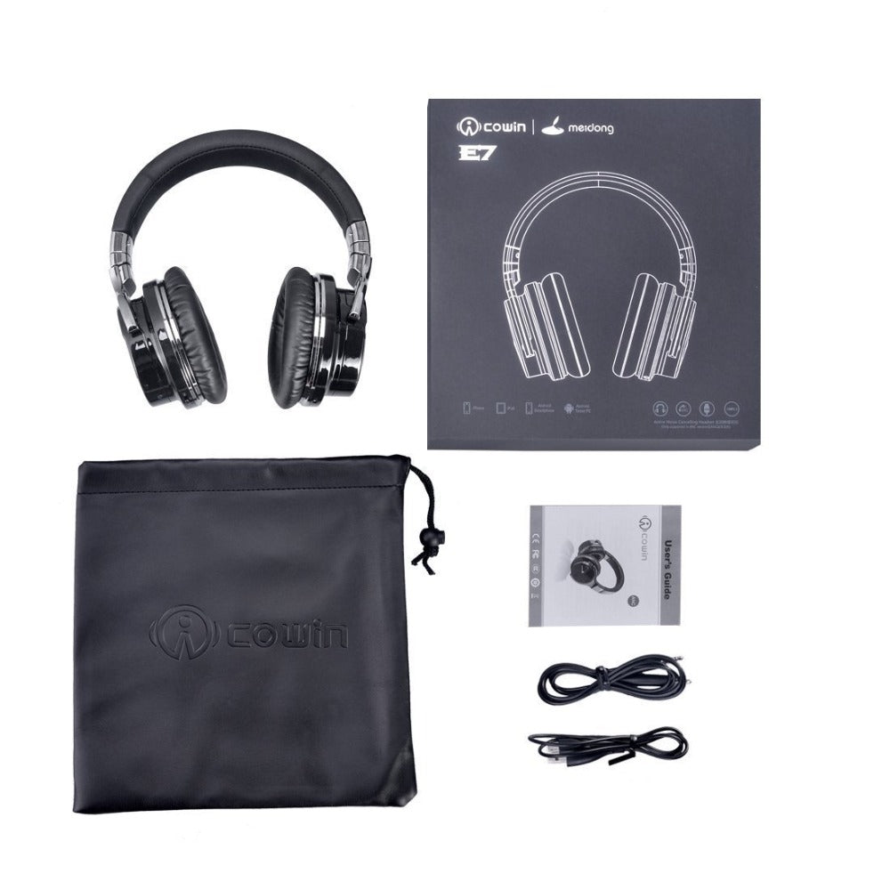 E-7 Active Noise Cancelling Bluetooth Headphone