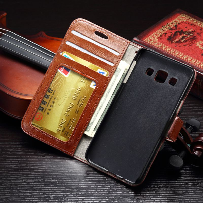 Leather Wallet Case For Samsung Galaxy