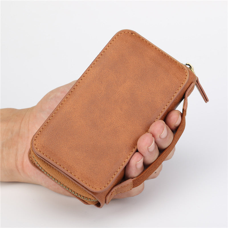 Multi-function Wallet iPhone Leather Case