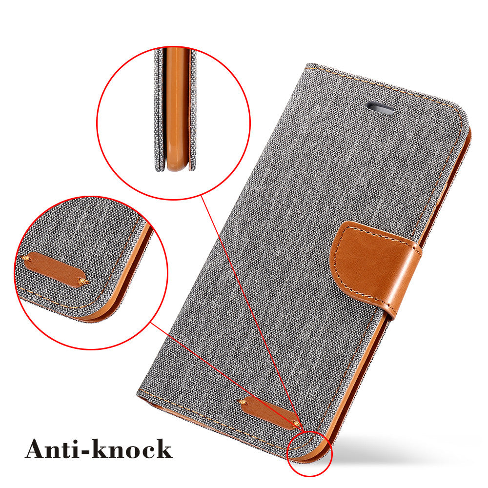 Book Flip Case For iPhone