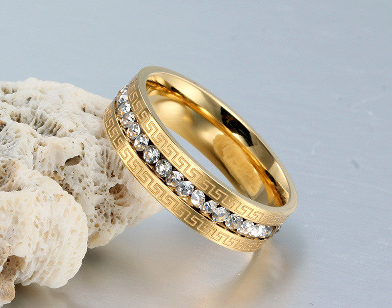 golden single row dill ring