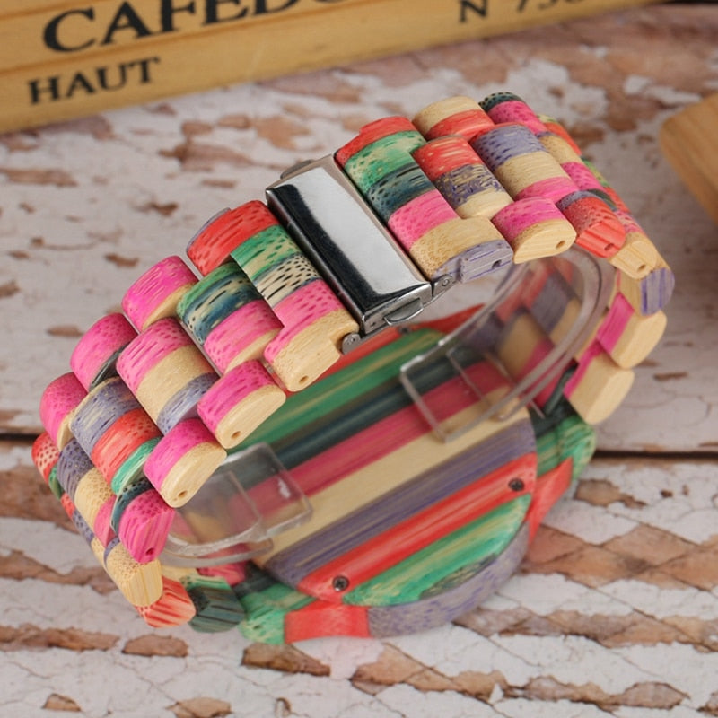 RAINBOW - Premium Wooden Watch