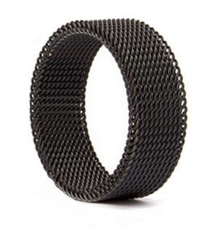 Black Soft Titanium Alloy Reticular