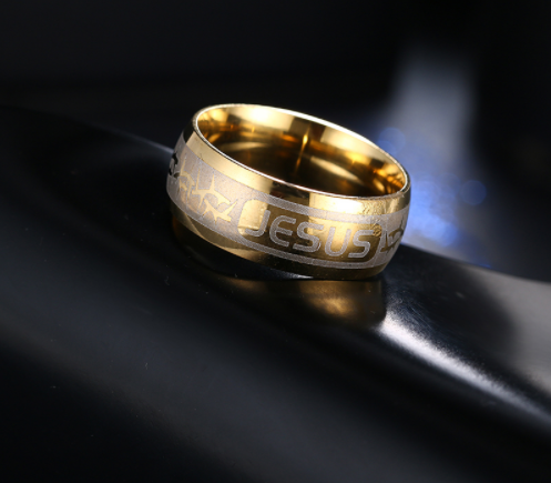 Jesus word ring