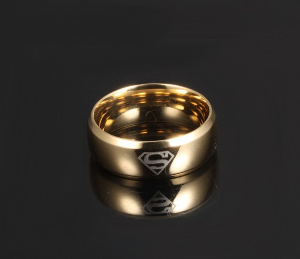 super man ring for men
