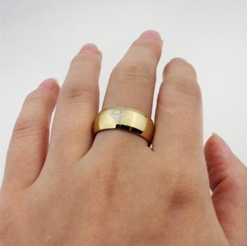 superman golden ring