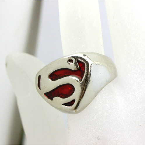 super hero superman ring