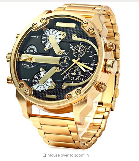 THE GRAND - Men's Oversized Watch