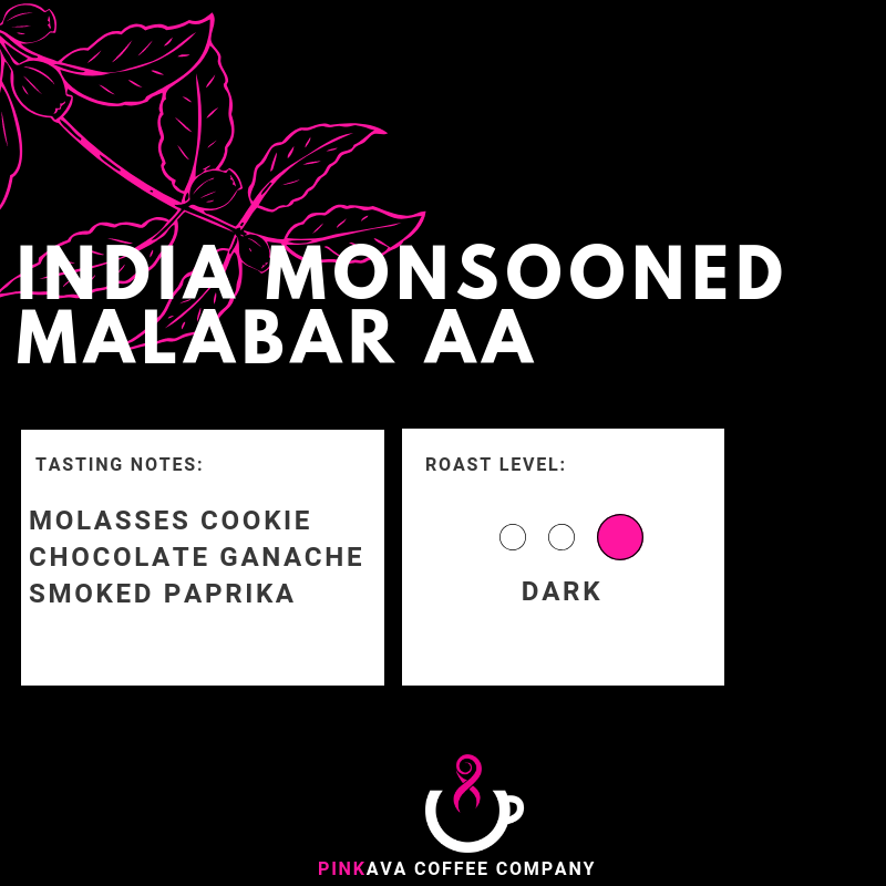 INDIA MONSOONED MALABAR AA