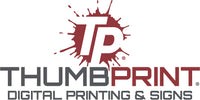 ThumbPrint Digital Printing and Signs Logo