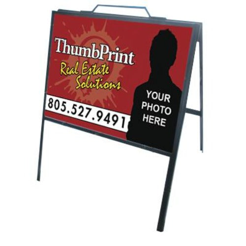 24x18 Steel A-Frame Sign Kit