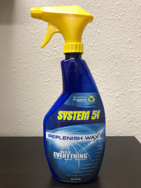 Wrap Spray Wax- 22oz