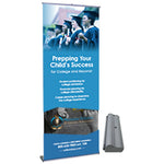 Premium- Retractable Banner Stand