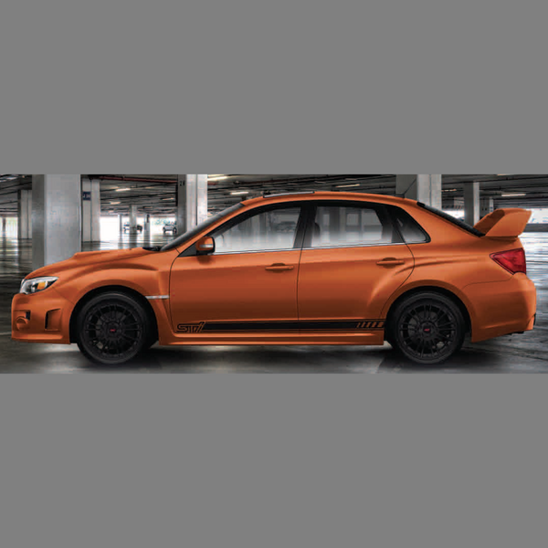 2013 STI Special Edition Subaru Door Stripe Kit