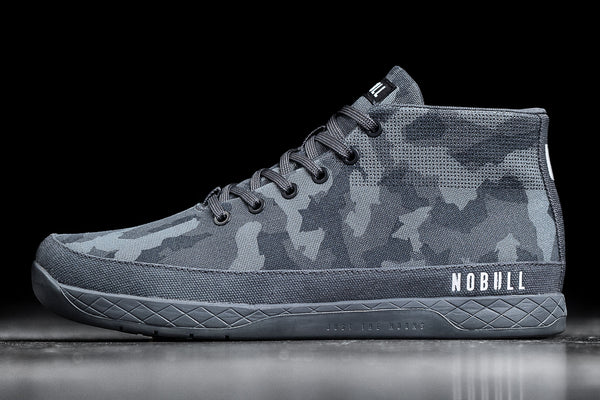 Preview of Dark Camo Canvas Mid Trainer