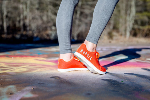 BURNT ORANGE TRAINER (WOMEN'S)