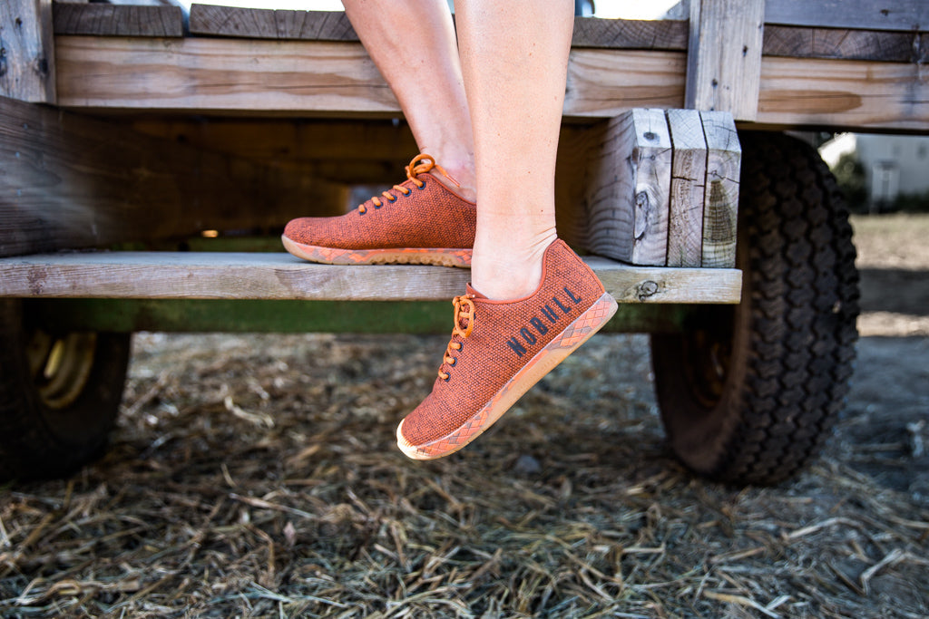 ORANGE HEATHER TRAINER (WOMEN'S)