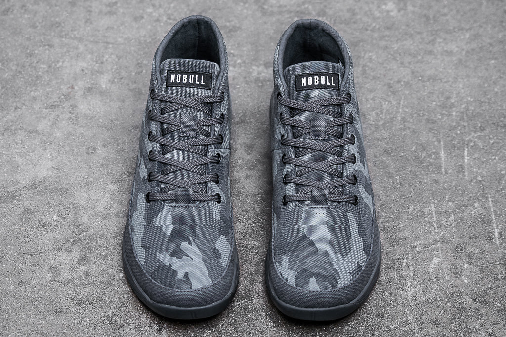 DARK CAMO CANVAS MID TRAINER (MEN'S)
