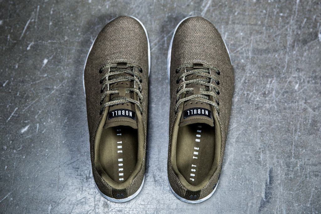 OLIVE HEATHER TRAINER (MEN'S)
