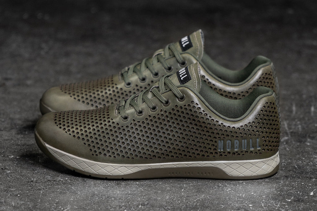 MOSS LEATHER TRAINER (MEN'S)