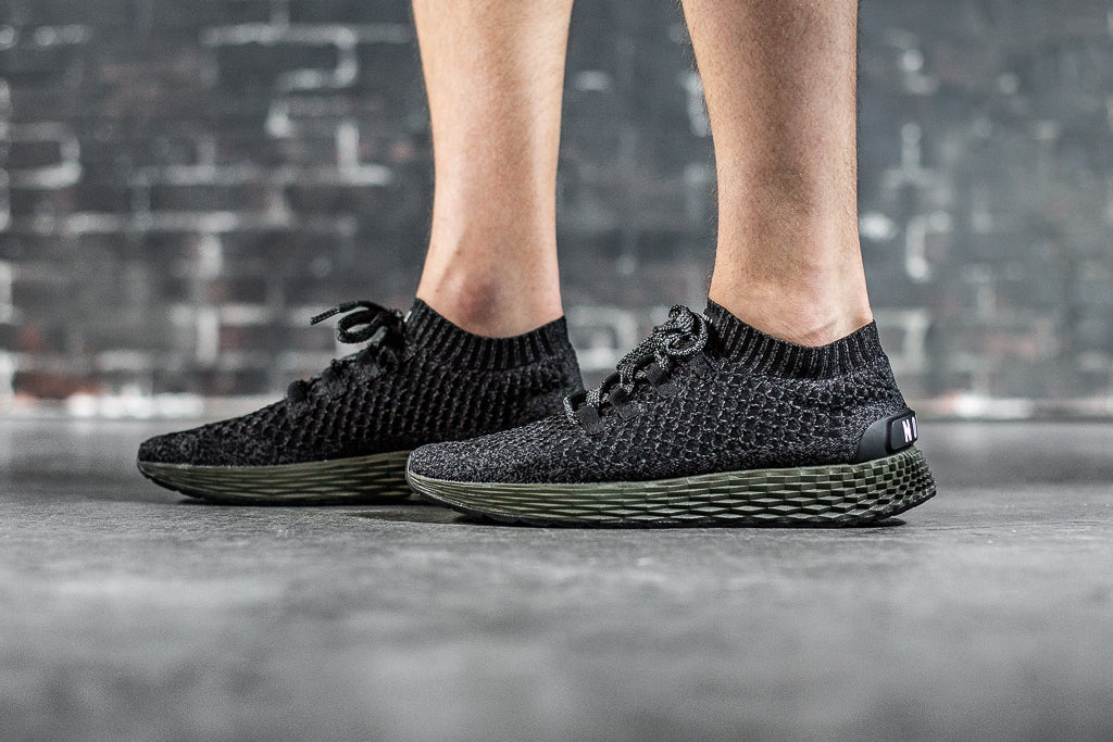 BLACK IVY KNIT RUNNER (MEN'S)