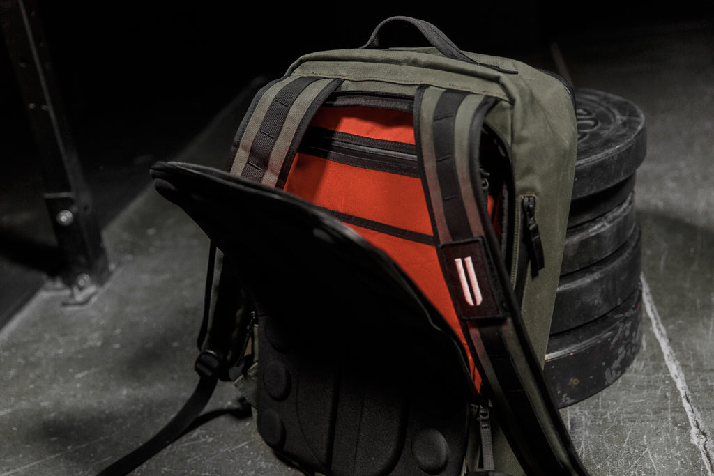 WAXED CANVAS BACKPACK (ARMY)