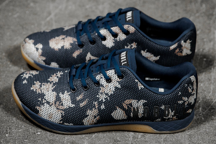 DARK FLORAL GUM TRAINER (MEN'S)