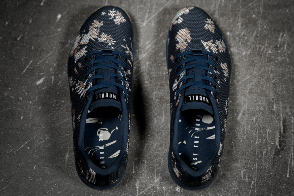 DARK FLORAL GUM TRAINER (WOMEN'S)
