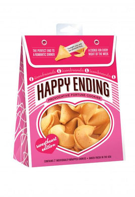 Happy Ending Fortune Cookies ( 7 Included)