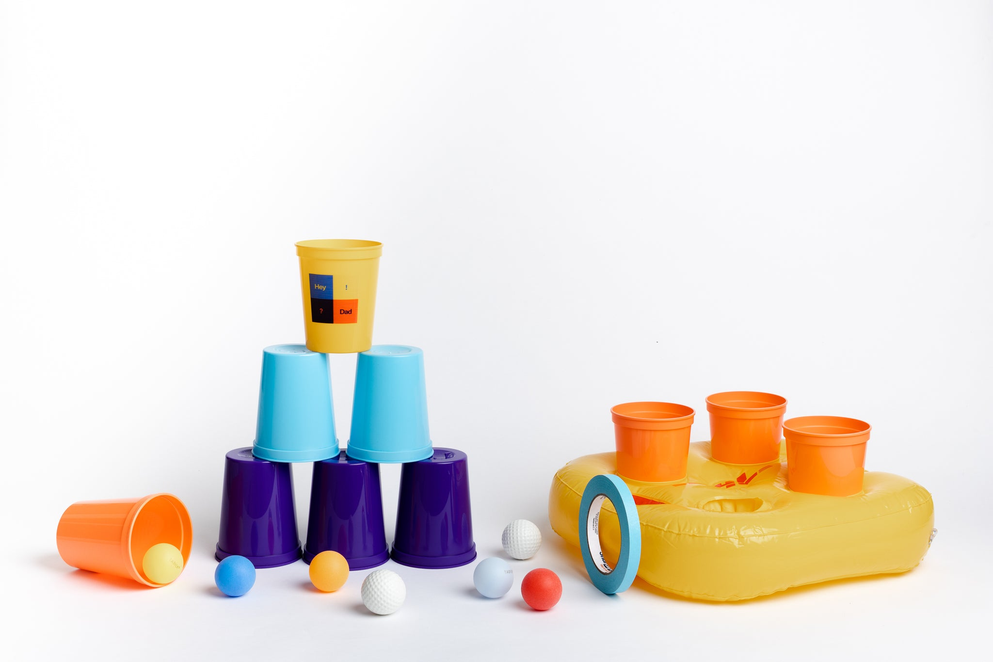 HeyDad Cups Play Box