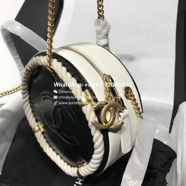 b6a2f81d3bab02 Chanel Small Round Bag · Chanel Small Round Bag ...