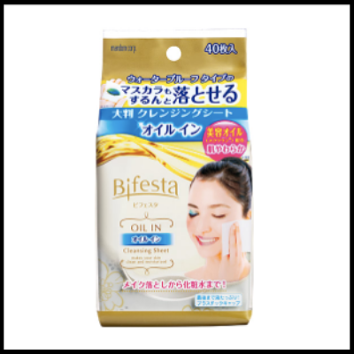 Mandom Bifesta Makeup Removal Towelettes (46 sheets)