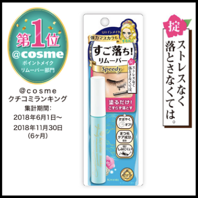 Kiss Me Mascara Remover (6.6ml)