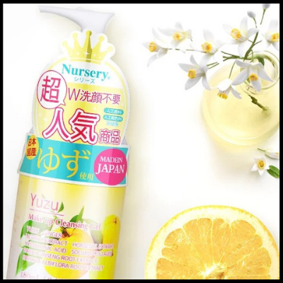 Yuzu Make Up Cleansing Gel (500ml)