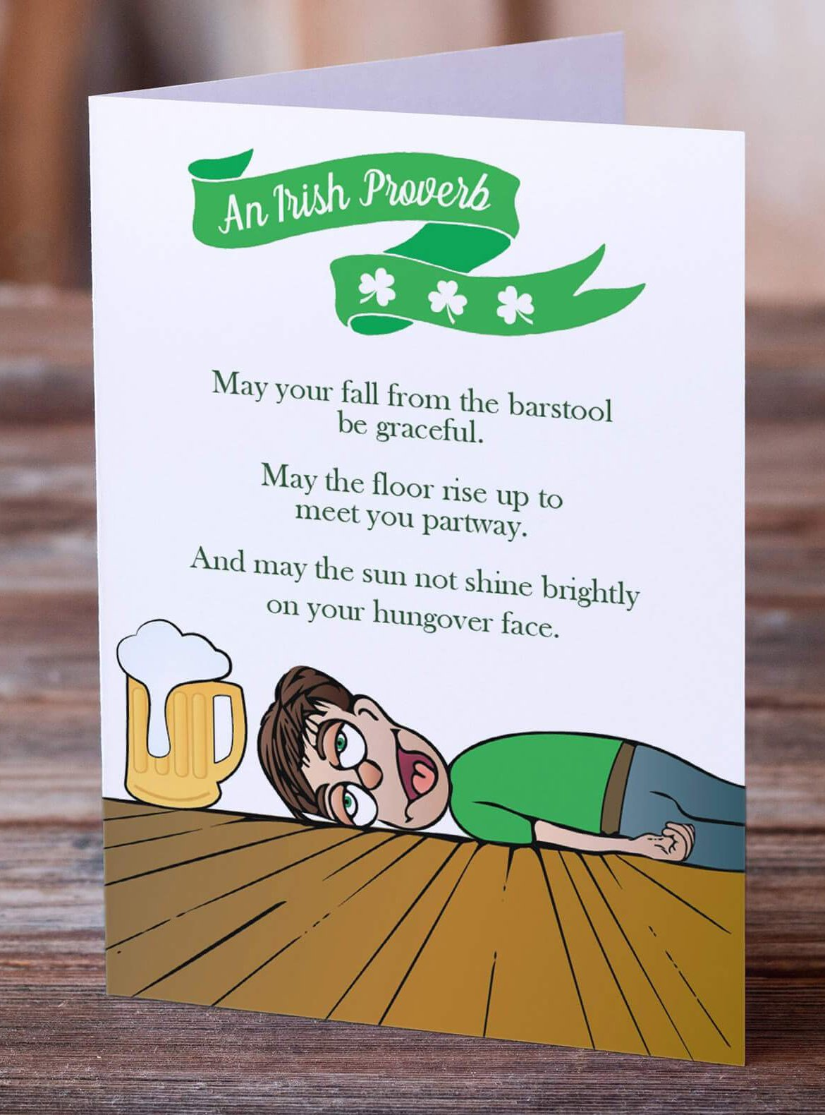 An Irish Proverb Greeting Card | Birthday Card | St. Patrick's Day Card