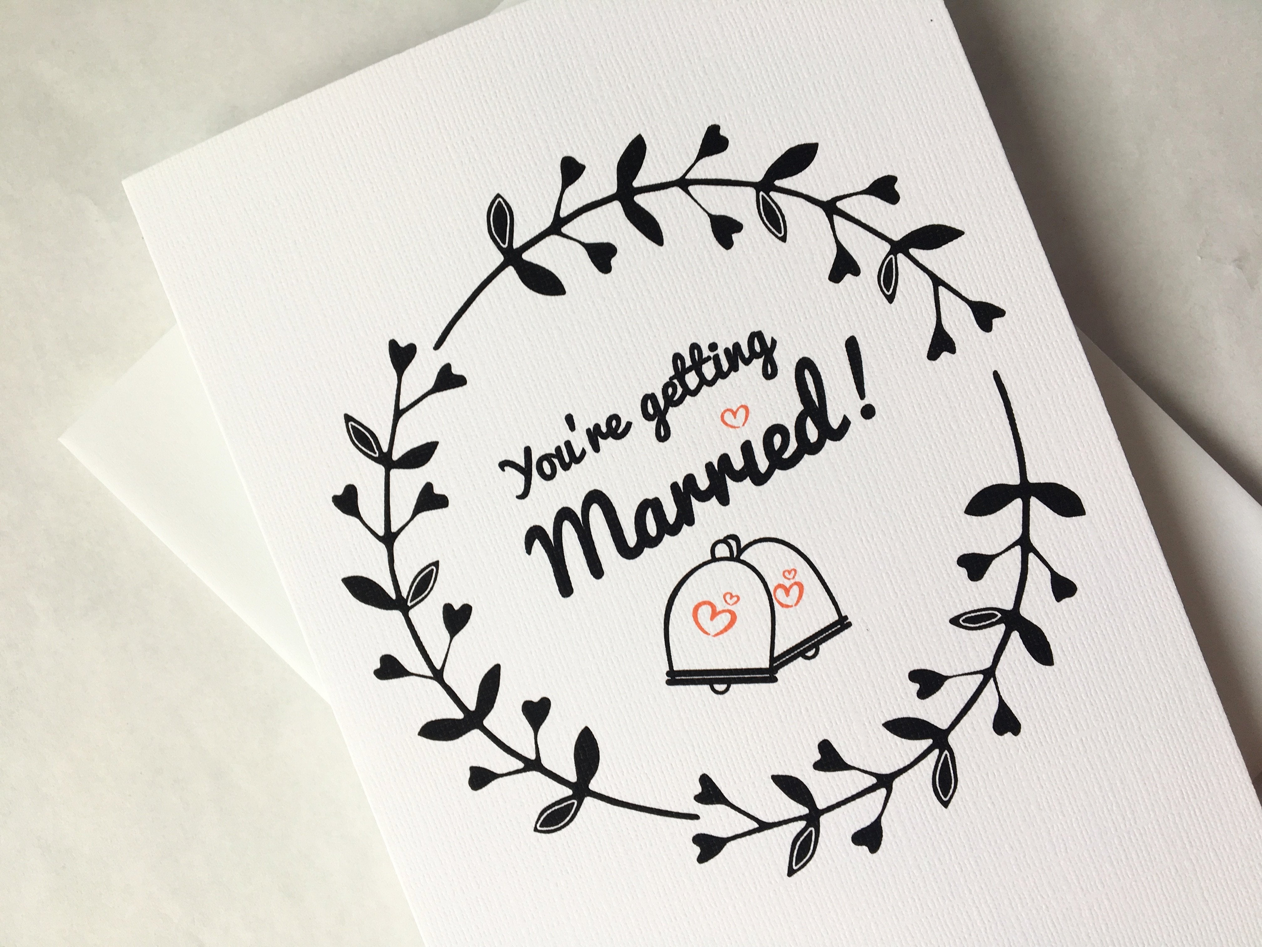 You're Getting Married?! Why? | A Sarcastic Wedding Card