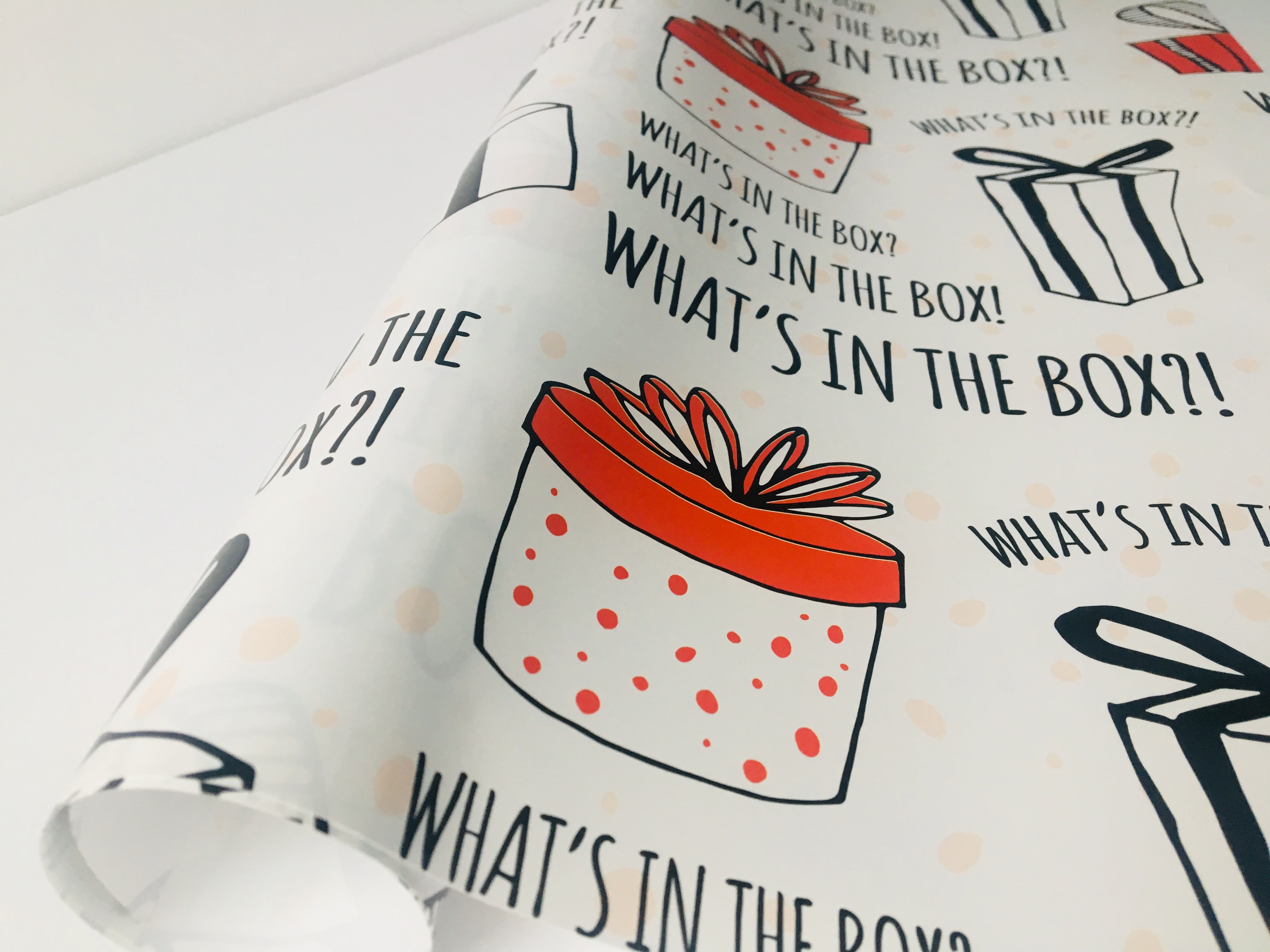 What's in the Box?! | Gift Wrap