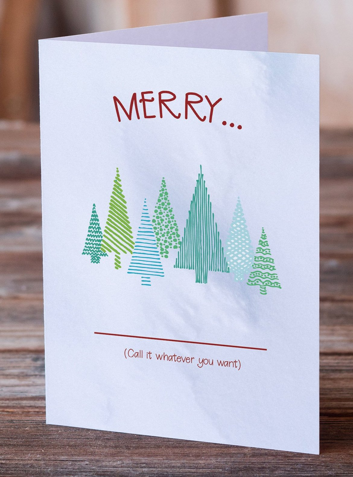Holiday Fill-in-the-Blank | Funny Christmas Card | Funny Holiday ...