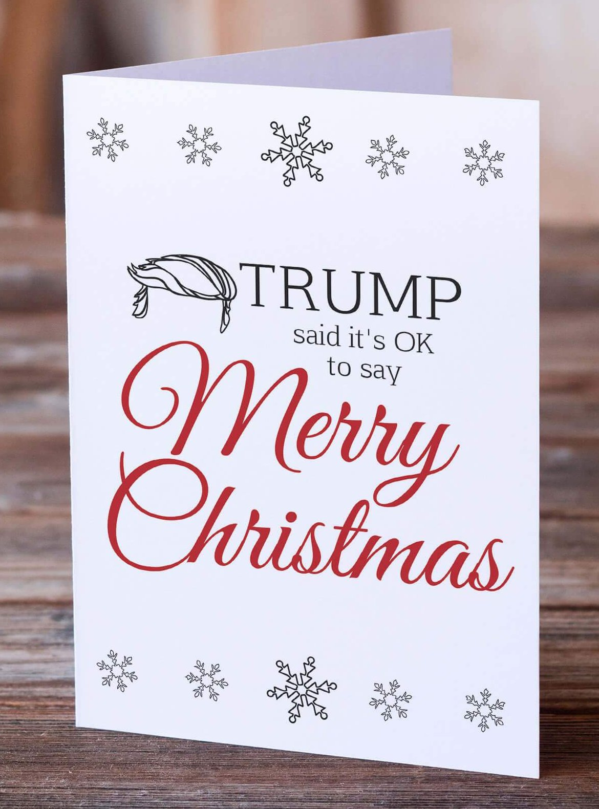 Trump Said Itu0027s OK To Say Merry Christmas...So, Happy Holidays!