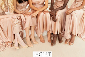 These Practical but Sleek Nude Heels Come in 5 Skin Tones