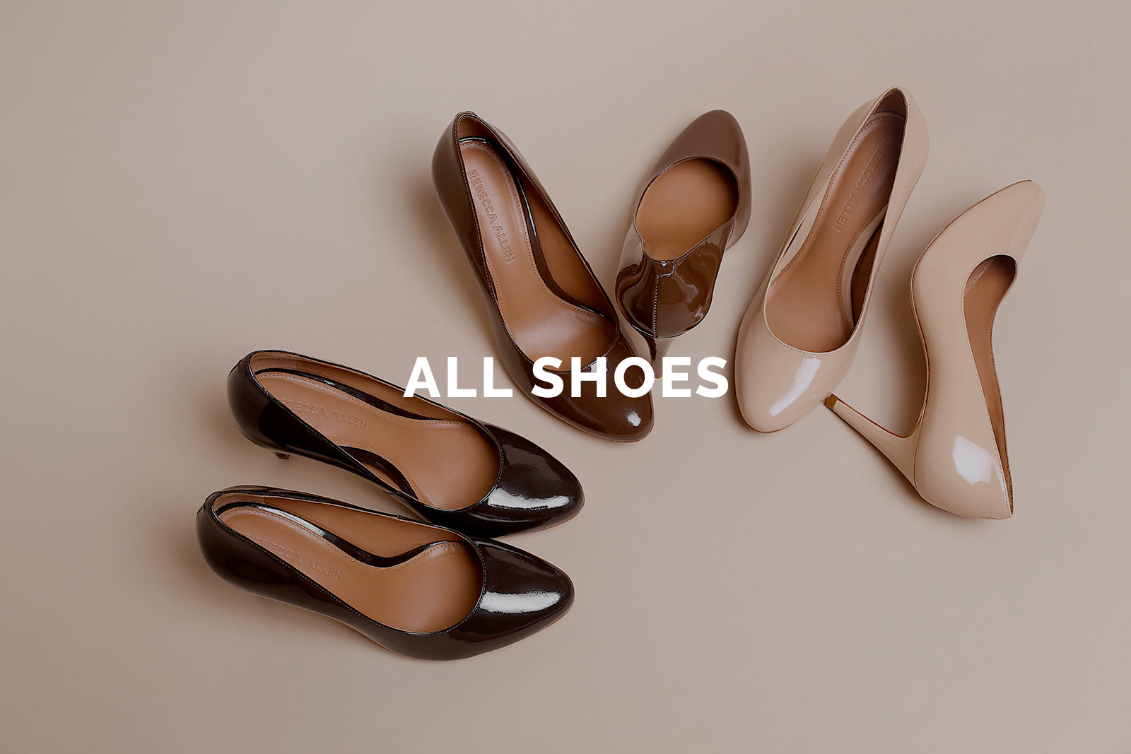 nude pump shoes in various shades